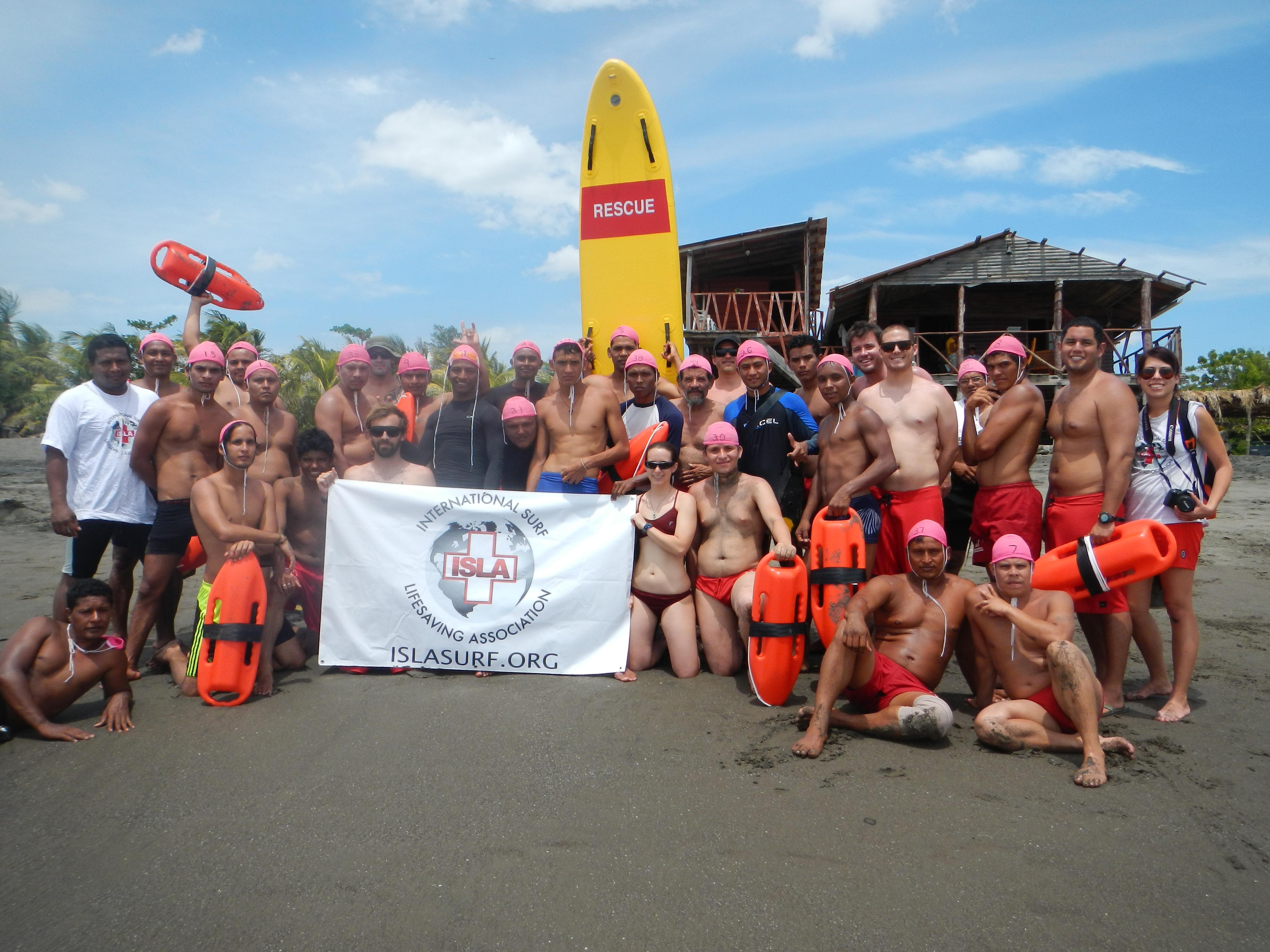 Nicaragua Lifeguard Training