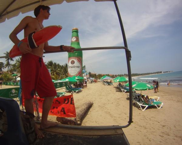 Dean Fernandez ISLA Lifeguard