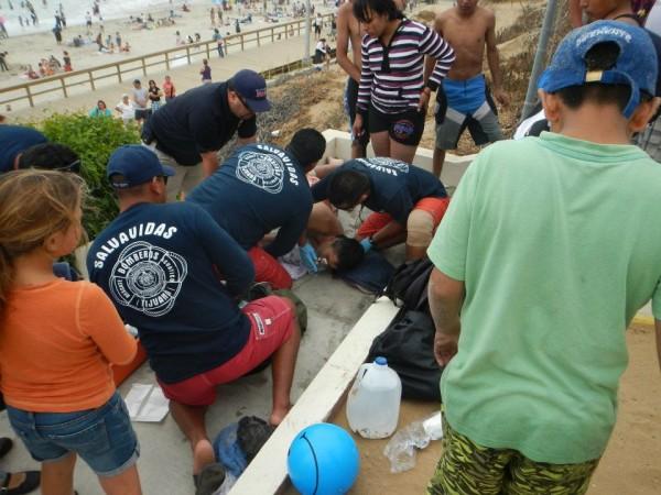 ISLA Lifeguard Baja California Exchange Medical Aid