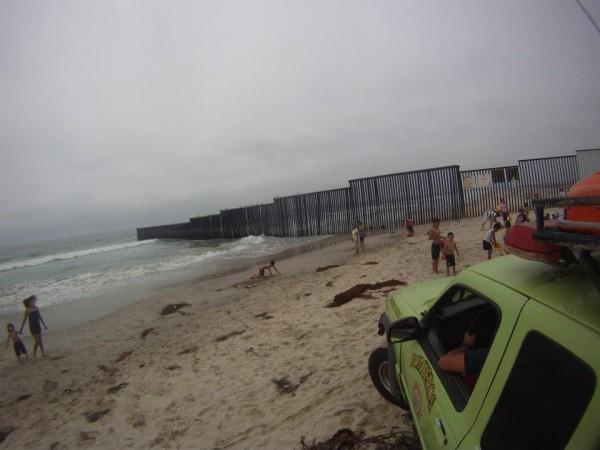 Lifeguarding the border