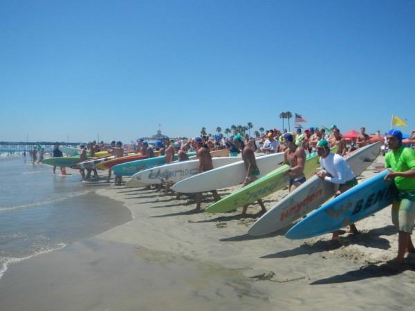 CSLSA lifeguard regionals paddleboards
