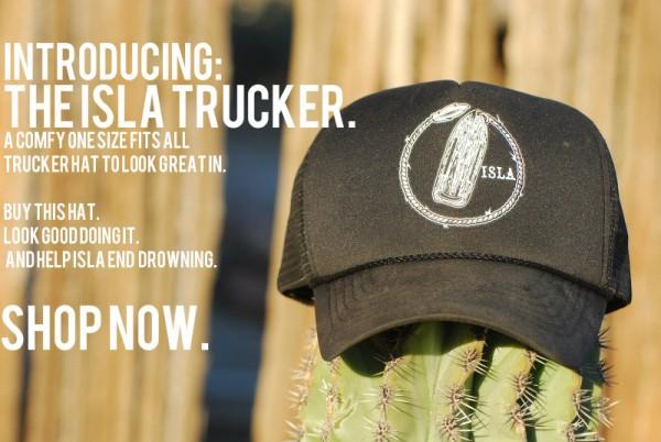 ISLA trucker hat