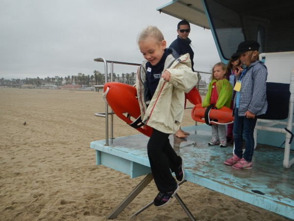 Kindergarten Field trip ISLA Lifeguards