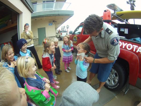 Kindergarten field trip ISLA