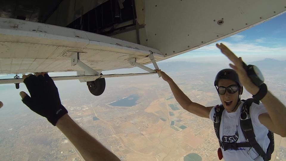 Travis Skydiving in Perris