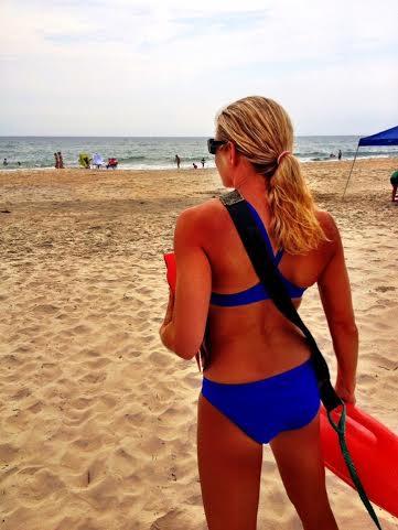 Jordan Hill lifeguarding 2013