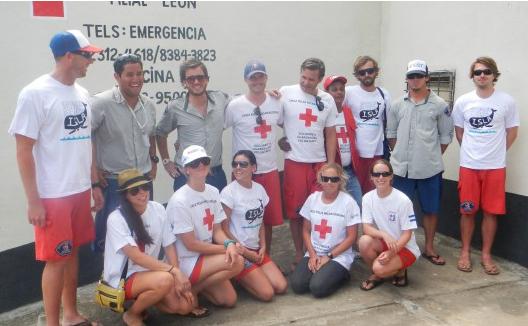 Julie with ISLA Team Nicaragua 2012