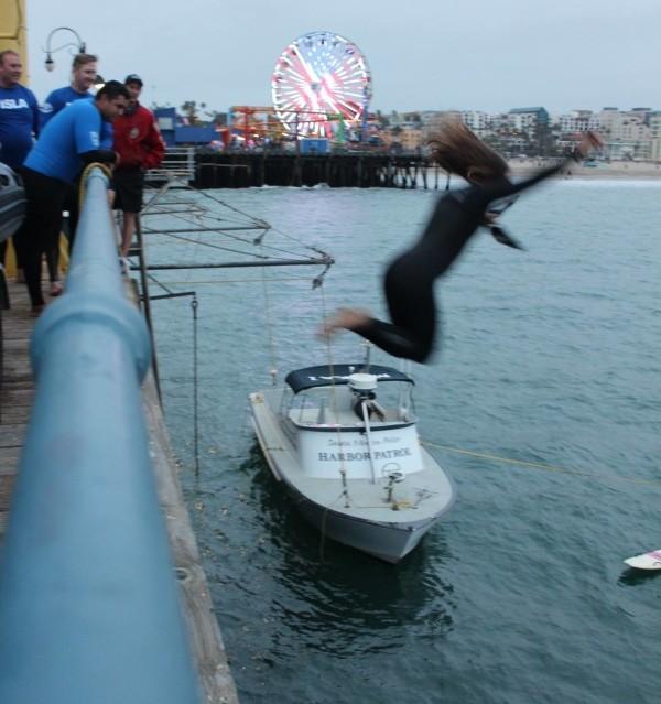 Santa Monica Pier Jumps
